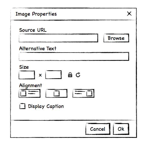 New Image Widget