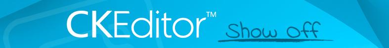CKEditor Showoff Initiative